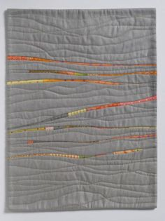 Ebb and Flow by Alison Schwalb #artquilts