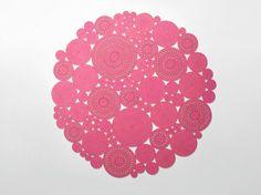 Descarga el catálogo y solicita al fabricante Paola Lenti los precios de alfombra lisa hecha a mano redonda Cosmo