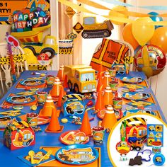 Construction Dump Truck Birthday Party Invitation Custom 1st Invites  more at Recipins.com