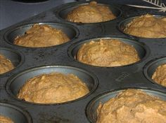 Weight Watchers pumpkin muffin recipe. Easy and delicious!