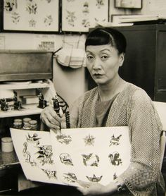 "vintagegal: "" Anna May Wong in Climax! ""Deadly Tattoo"" episode 1958 """
