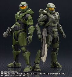 The ARTFX+ Statue format has been providing collectors with high quality, medium scale figures with top notch sc Master Chief And Cortana, Halo Master Chief, Master Chief Armor, Halo Cosplay, Halo Reach, Halo Action Figures, Halo Armor, Halo Spartan Armor, Godzilla