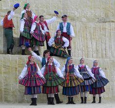 Poland: Opoczno folk costumes