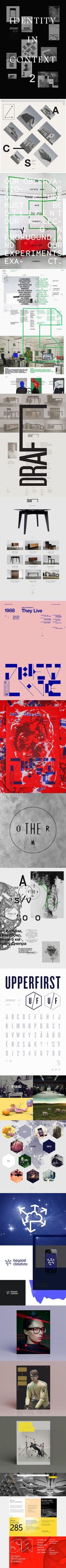 Inspiration Stuff http://www.behance.net/gallery/Identity-in-Context-II/6109351