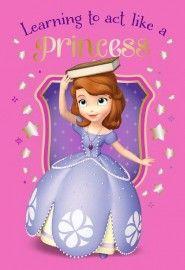 Disney Principessa Sofia Tappeto Cameretta 80x120 cm