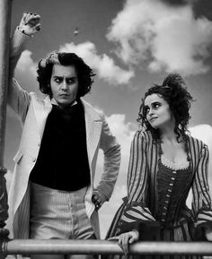 Sweeney Todd. All-time greatest movie! Love them both!