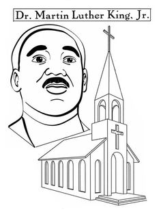 martin luther king coloring pages kindergarten - Martin Luther King Coloring Pages