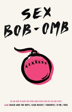 Sex Bob-Omb from Scott Pilgrim vs The World Ramona Flowers, Geeks, Scott Pilgrim Comic, Bryan Lee O Malley, Comic Style, Scandal Abc, Scandal Quotes, Glee Quotes, Vs The World