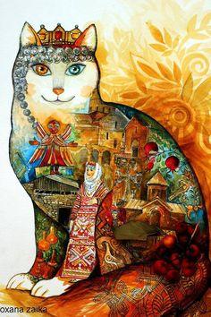 #armenia cat ,Армянский народный+кот #ванскаякошка