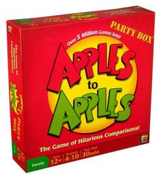 #applestoapples #boardgame #cardgame #sandyspider #Squidoo #productreview