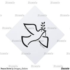 Peace Dove Graduation Cap Topper Graduation Cap Toppers, Peace Dove, First Love, Make It Yourself, Classic, Prints, How To Make, Collection, Derby