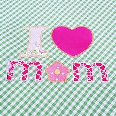 I ❤ MOM embroidery and sewing! By Il Baule dei sogni.