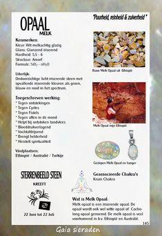 Melkopaal - uitleg en werking edelstenen - Gaia Gems