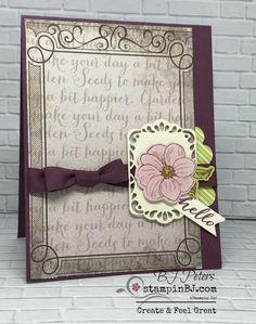 May Good Things Grow, Paper Pumpkin, Craft Kit, BJ Peters, #stampinBJ.com