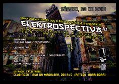 Sábado, 30 de Maio EBM, Old School Electro & Industrial, 80s, 90s, mid 00s. Evento: https://www.facebook.com/events/730780857030820/ Hosts: - Synth-Axis aka Apátrida (Nuklear Dawn / N.D. Sessions) - Leatherstrip  - Hex (Control Alt Deus / U.M.M. / IndustrialPT) - Bak_teria (U.M.M. / IndustrialPT) Entrada 2 €lektrões Aberto das 23 às 4