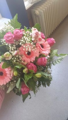 Eerste bloemstuk voor klas 4.