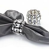 Brilliant Napkin Rings - Clear - Set of 4 $23.80