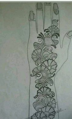 Mehndi Designs Book, Beginner Henna Designs, Latest Arabic Mehndi Designs, Arabic Henna Designs