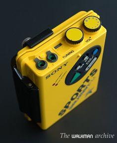 SONY WM-F5 | The Walkman Archive Sony Design, Archive, Prom, Japan, Electronics, Retro, Products, Senior Prom, Retro Illustration