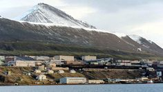 The mining outpost of Barentsburg, shown September 18, 1997, on Norway's remote Svalbard islands. The Soviet Union (later Russia) has been operating the mines here since 1932. Currently it is home to around 500 residents, almost entirely Russian and Ukrainian.