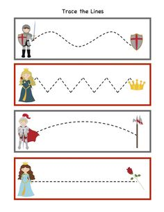 Knight Printable ~ Preschool Printables