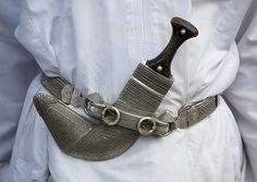 Omani dagger, the khanjar - Oman by Eric Lafforgue, via Flickr