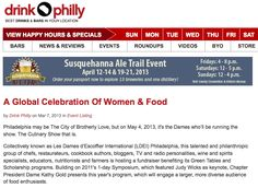 Les Dames d'Escoffier International—Philadelphia Chapter on drinkphilly.com