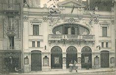 Le Concert de la Gaîté, boulevard de Rochechouart, vers 1905.