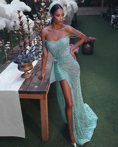 Look 2 from the Spring Summer 2019 Couture Collection Dresses Elegant, Pretty Dresses, Sexy Dresses, Beautiful Dresses, Fashion Dresses, Prom Dresses, Formal Dresses, Wedding Dresses, Long Gown Elegant