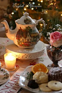 Aiken House & Gardens: Christmas English Afternoon Tea