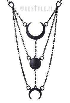 Moon phase necklace #jewelry #jewellery