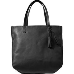 Old Navy Womens Tassel Zip Totes - Black ($35) ❤ liked on Polyvore featuring bags, handbags, tote bags, women, black faux leather tote, black zipper tote, zip tote, black handbags and faux leather tote bag