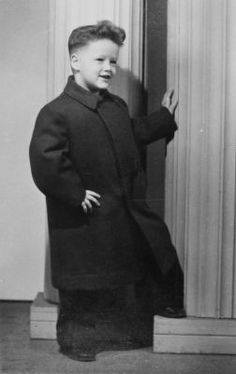 Bill Clinton as a child.