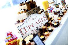 Cupcake buffet!