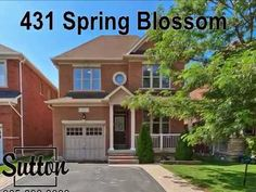 Oakville Homes for Sale, 4 Bedroom Detach, 431 Spring Blossom Video Spring Blossom, Detached House, Homes, Mansions, Luxury, Bedroom, House Styles, Outdoor Decor, Home Decor