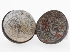 400 Years of Beautiful, Historical, and Powerful Globes | Another beautiful pocket globe, this one from 1731. British Library  | WIRED.com