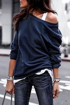 Buy One Shouder Casual Soft Long Sleeve T-Shirt online with cheap prices  and discover fashion Long sleeve T-shirts at fashionme to be fashionable  now. 3bc4b1ad5