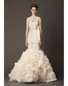 Pouzdrové / Tužkové Elegantní & luxusní Přírodní Svatební šaty 2014