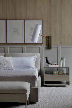 Bedroom interior classic bedside tables 59 ideas for 2019 Easy Home Decor, Home Decor Trends, Decor Ideas, Interior Design Boards, Furniture Design, Custom Furniture, Office Furniture, Minimal Bedroom, Furniture