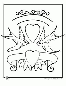 Valentine Coloring Pages Valentine Coloring Pages Bird Coloring Pages Coloring Pages