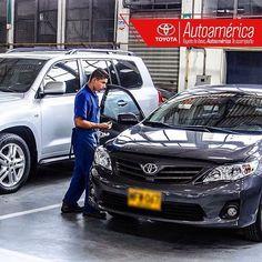 Evita pagar un costo elevado por la reparación de los fluidos de fuga, trayendo tu #Toyota a los mantenimientos periódicos cada 5.000 kms, ¡solo nos tomará una hora! #MantenimientoExpress www.autoamerica.com.co