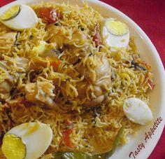 Tasty Appetite: Lucknowi Murgh Biryani / Awadhi Biryani