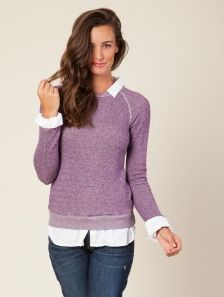 The Colored Sweatshirts #thea #easyluxe #americancolors