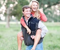 They are soooo cute. This would be an adorable engagement picture!