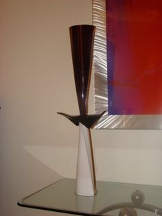 Acrylic sculpture by Tom Altiere Jr.