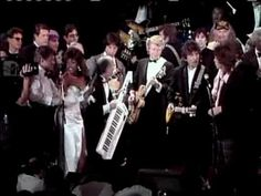 ▶ Beatles perform at Rock and Roll Hall of Fame inductions 1988 - YouTube