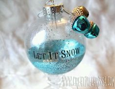 DIY ornaments, several really cool ones & link works!
