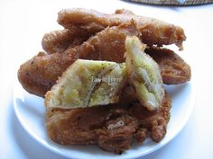 Jayk Jien: Khmer Fried tropical banana.
