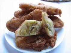 Jayk Jien: Khmer Fried tropical banana.