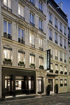 Exterior View - Hotel Keppler, Paris, France